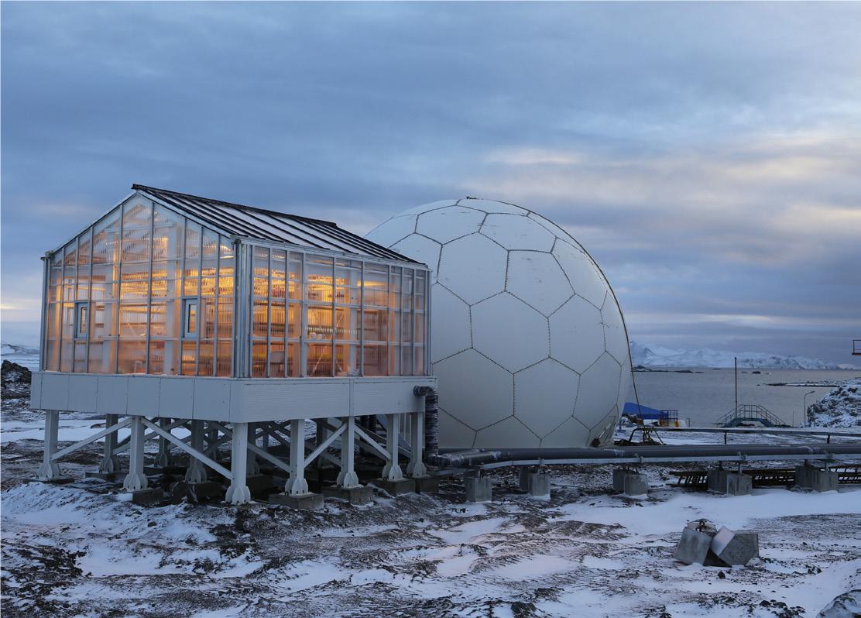 Atemberaubend PLEXIGLAS® Alltop - ein Gewächshaus am Südpol - Stegplatten #OF_21